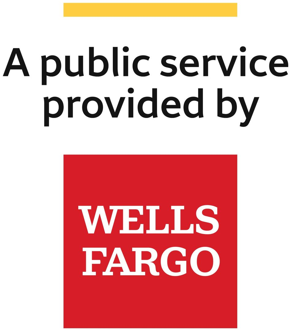 A public service provided by Wells Fargo